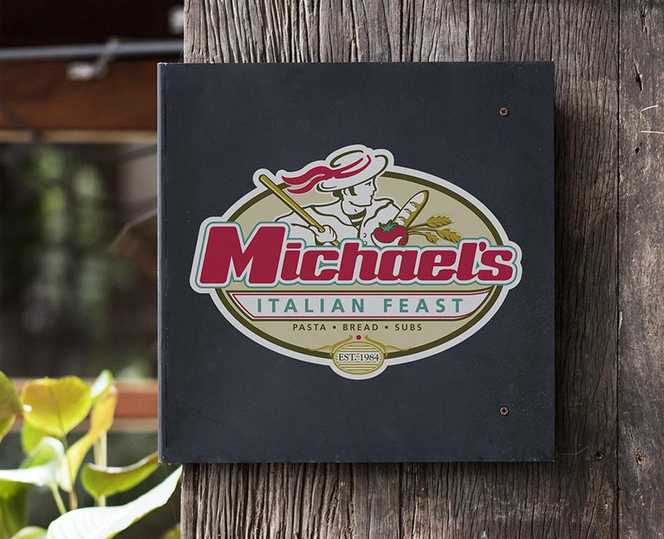Michaels Italian Feast Brand Identity