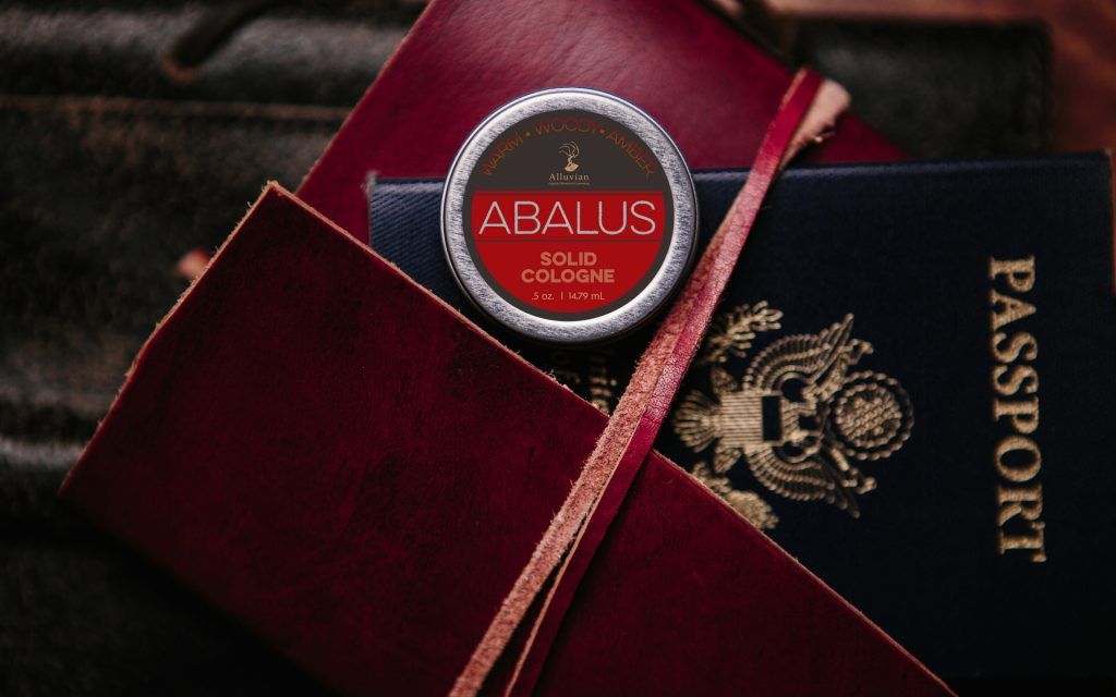 Alluvian Mens Grooming Products Branding