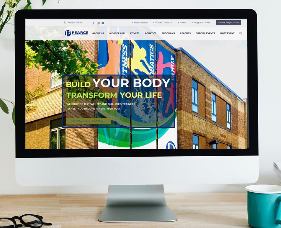 Pearce Community Center Website